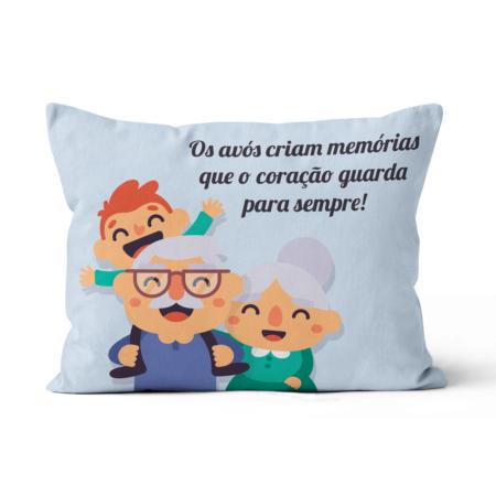 Fronha_almofada_bedattitude_personalizada_avos_memorias_coraçao-sempre